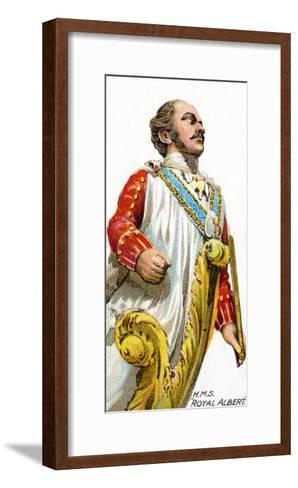 Figurehead of H.M.S. Royal Albert, 1912--Framed Art Print