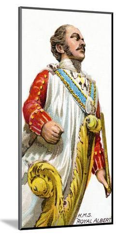 Figurehead of H.M.S. Royal Albert, 1912--Mounted Giclee Print
