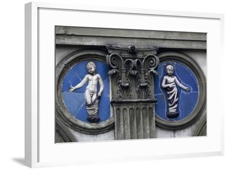 Hospital of Innocents or Foundling Hospital--Framed Art Print