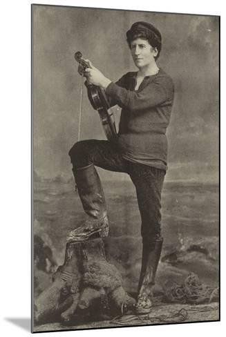 "Mr Wilson Barrett, as Pete in ""The Manxman""--Mounted Photographic Print"