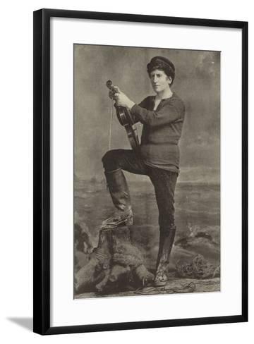 "Mr Wilson Barrett, as Pete in ""The Manxman""--Framed Art Print"