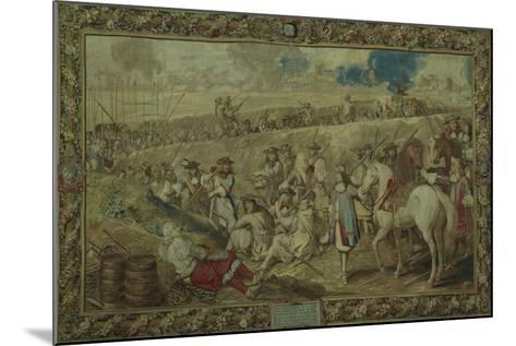 Louis XIV at the Battle of Tournay, June 21, 1667--Mounted Giclee Print