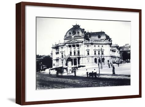 Volkstheater--Framed Art Print