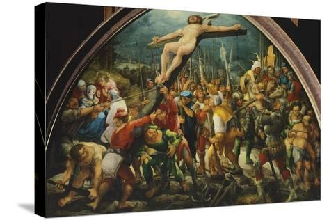 Crucifixion, by Wolfgang Huber--Stretched Canvas Print