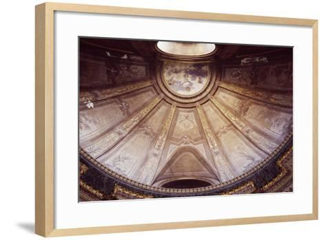 Interior of Cathedral of John the Baptist and Saint Remigio--Framed Art Print
