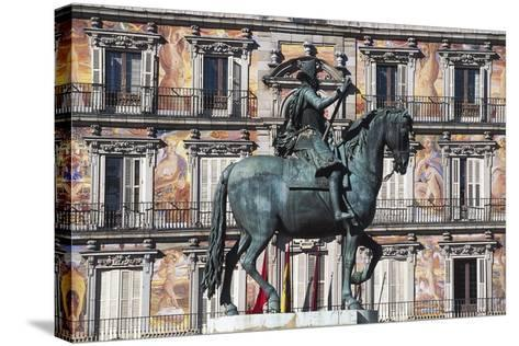 Equestrian Statue of Philip III--Stretched Canvas Print