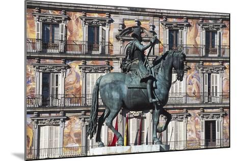 Equestrian Statue of Philip III--Mounted Giclee Print