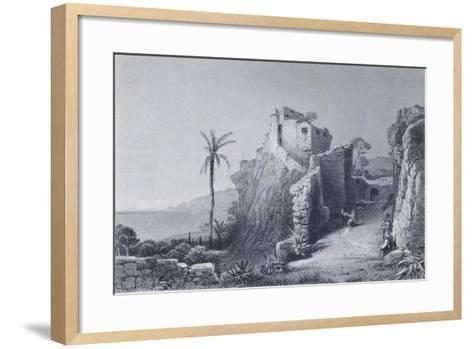 Convent in Camogli--Framed Art Print