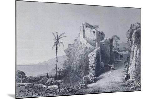 Convent in Camogli--Mounted Giclee Print