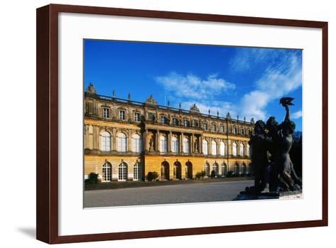 Germany, Bavaria, Herreninsel Island, Lake Chiemsee, Herrenchiemsee Palace--Framed Art Print