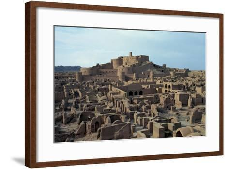 View of the Ancient Mud-And-Clay Citadel--Framed Art Print