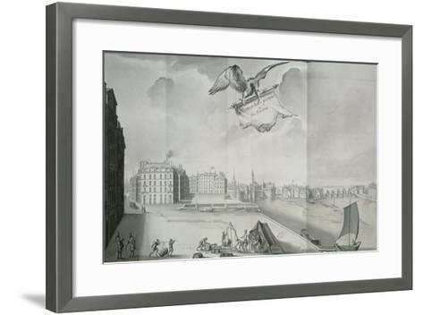 The Gabelle, Nantes, in 1723--Framed Art Print