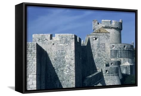 View of the North Walls--Framed Canvas Print