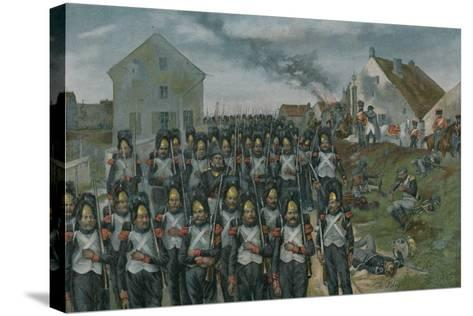 Campaign of France--Stretched Canvas Print