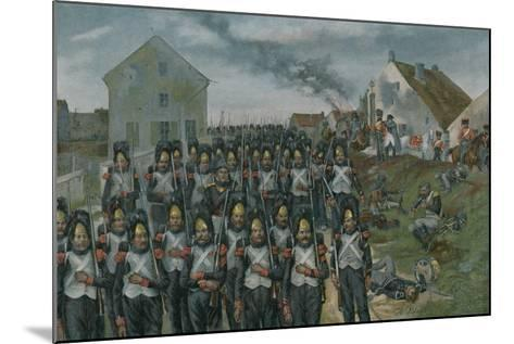 Campaign of France--Mounted Giclee Print