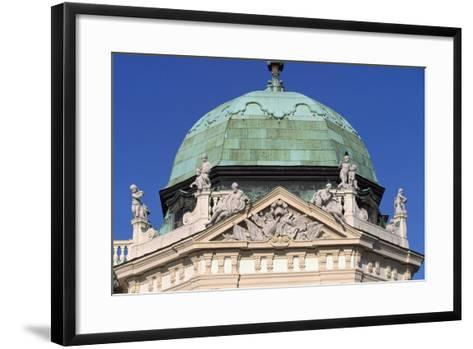 Austria, Vienna, Upper Belvedere Palace--Framed Art Print