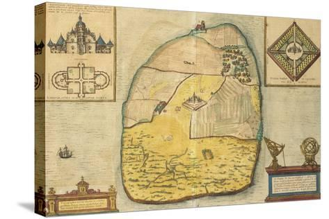 Uranienborg from Civitates Orbis Terrarum--Stretched Canvas Print