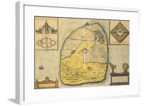 Uranienborg from Civitates Orbis Terrarum--Framed Art Print