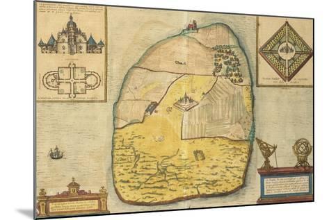 Uranienborg from Civitates Orbis Terrarum--Mounted Giclee Print