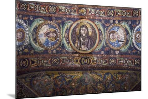 Clipei Connected by Pairs of Dolphins with Images of St James, St Paul, Christ, St Peter, St Andrew--Mounted Giclee Print