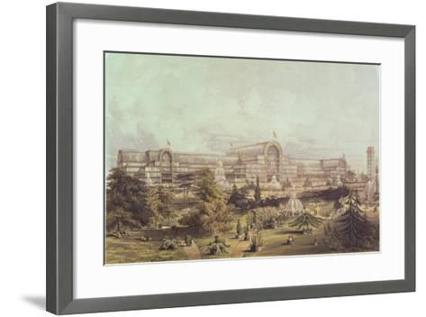 Great Exhibition, 1851: Crystal Palace--Framed Art Print