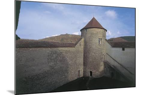 Wall of a Castle, Allymes Castle, Bugey, Rhone-Alpes, France--Mounted Giclee Print