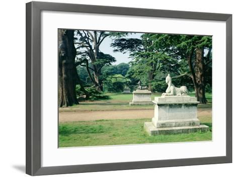 Chiswick Gardens, Middlesex, View of the Sphinx--Framed Art Print