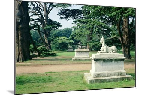 Chiswick Gardens, Middlesex, View of the Sphinx--Mounted Photographic Print