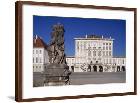 View of Nymphenburg Palace, Nymphenburg-Neuhausen, Munich, Germany, 17th-18th Century--Framed Art Print