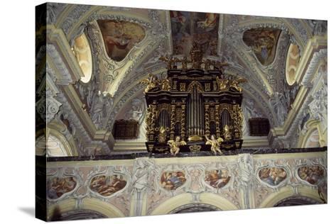 Interior of Church of Frauenberg, Admont Benedictine Abbey, Styria, Austria--Stretched Canvas Print