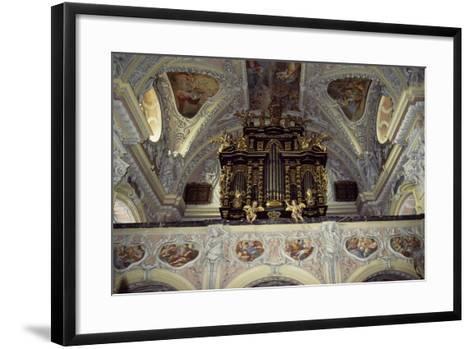 Interior of Church of Frauenberg, Admont Benedictine Abbey, Styria, Austria--Framed Art Print