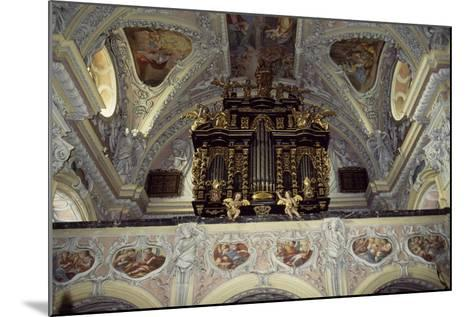 Interior of Church of Frauenberg, Admont Benedictine Abbey, Styria, Austria--Mounted Giclee Print