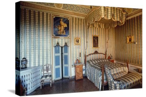 Apartment of St Charles Borromeo, Masino Castle, Caravino, Piedmont, Italy--Stretched Canvas Print