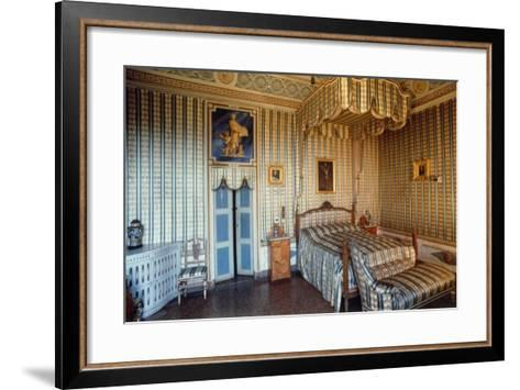 Apartment of St Charles Borromeo, Masino Castle, Caravino, Piedmont, Italy--Framed Art Print