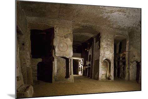 Room Opposite Lower Floor of Catacombs of San Gennaro, Naples, Campania, Italy--Mounted Giclee Print