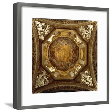 The Assumption of Virgin, 1702-1706--Framed Art Print