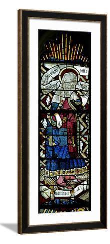 Window EW Depicting St Elizabeth--Framed Art Print
