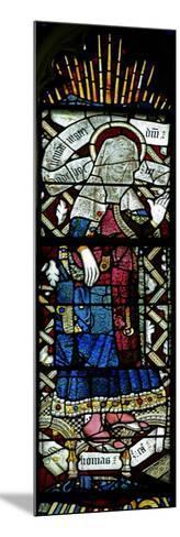 Window EW Depicting St Elizabeth--Mounted Giclee Print