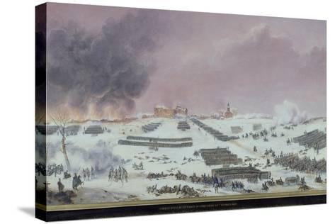 Battle of Eylau, 1807--Stretched Canvas Print