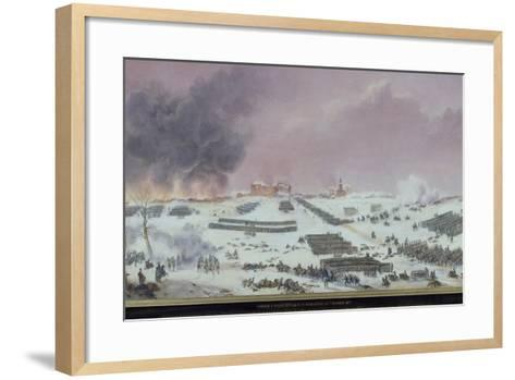 Battle of Eylau, 1807--Framed Art Print
