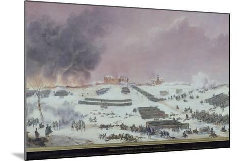 Battle of Eylau, 1807--Mounted Giclee Print