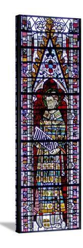 Window W2 Depicting St Lawrence--Stretched Canvas Print