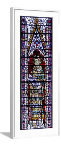 Window W2 Depicting St Lawrence--Framed Art Print
