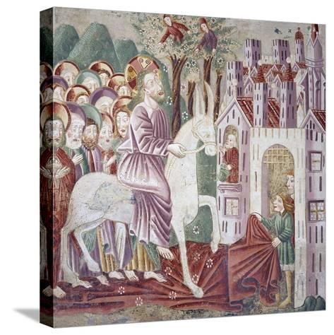 Near Pazin, Christ Entering Jerusalem--Stretched Canvas Print