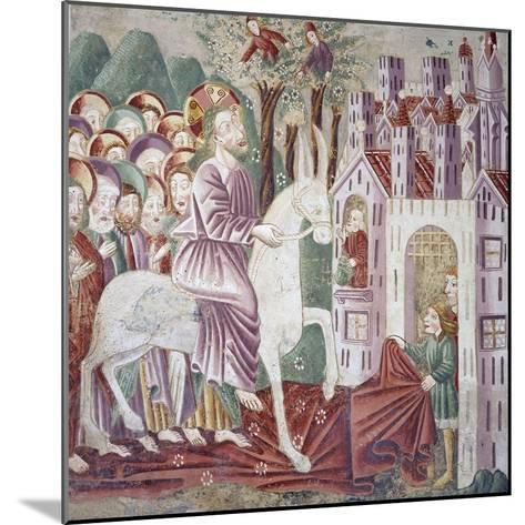 Near Pazin, Christ Entering Jerusalem--Mounted Giclee Print