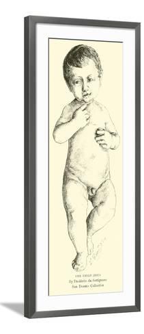 The Child Jesus--Framed Art Print