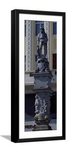 Roland Fountain, 1572, Main Square--Framed Art Print