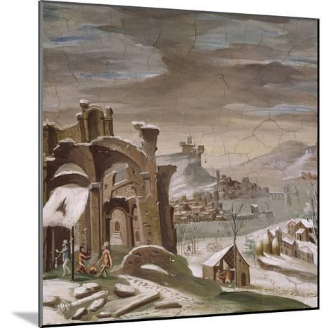 Seasons, Winter, 16th Century Decoration of Palazzo Odescalchi, Bassano Romano, Lazio, Italy--Mounted Giclee Print