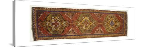 Rugs and Carpets: Turkey - Anatolia - Konya Carpet--Stretched Canvas Print