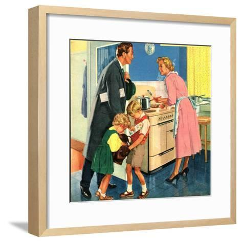 Illustration from 'John Bull', 1950S--Framed Art Print